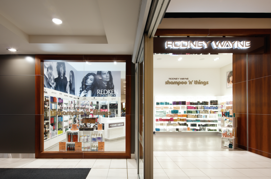 Rodney Wayne Shampoo 'n' Things Queensgate. Photograph by Jason Mann