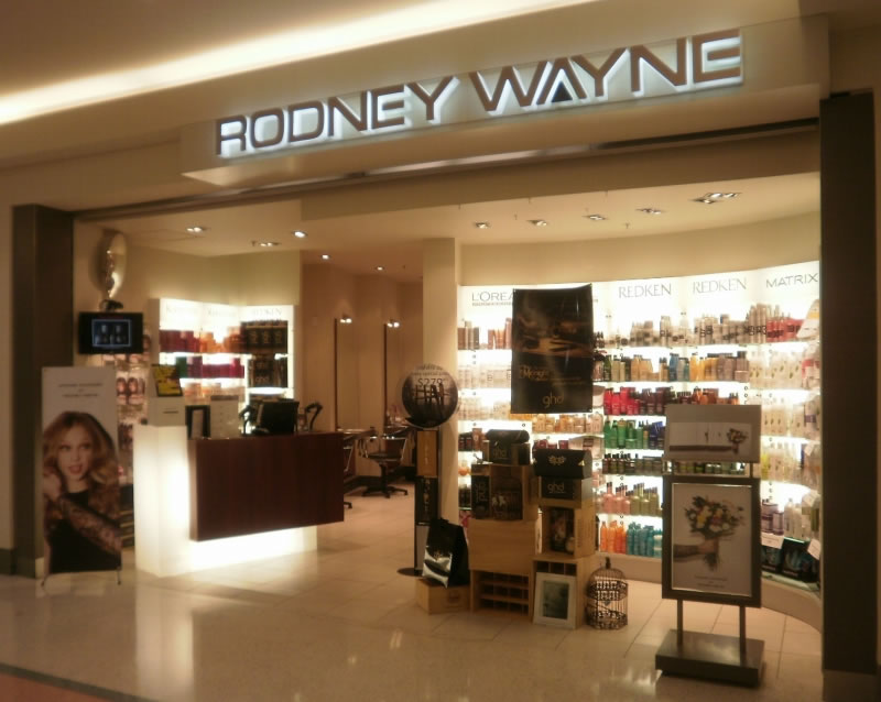 Rodney Wayne hair salon and hairdresser Chartwell