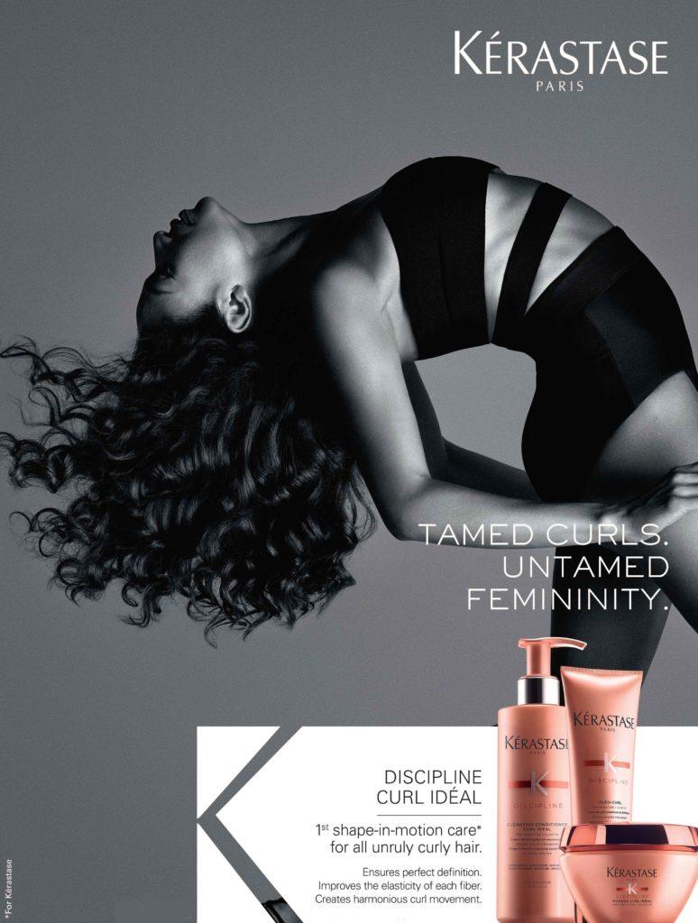 Tame curls with Kérastase Discipline Curl Idéal