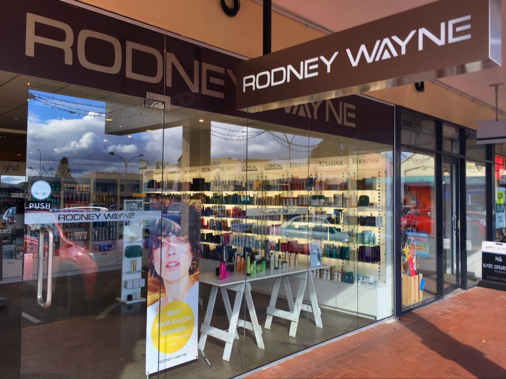 Rodney Wayne hair salon and Shampoo 'n' Things Eden Quarter 290 Dominion Road Mt Eden