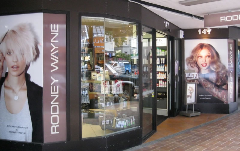 Rodney Wayne Lambton Quay hair salon Wellington