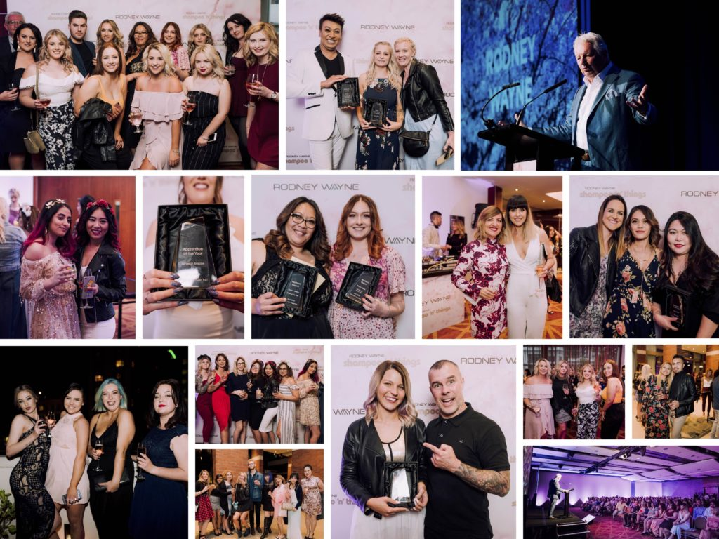 Rodney Wayne Team Awards! Celebrating the best in Hairdressing