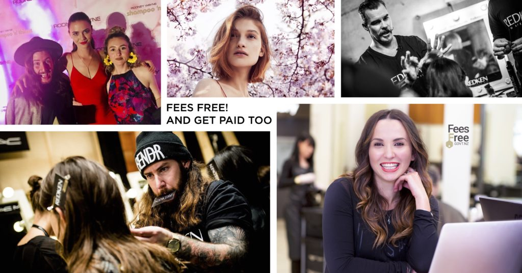 Fees Free! Earn, Learn and Create Your Hair Career Now