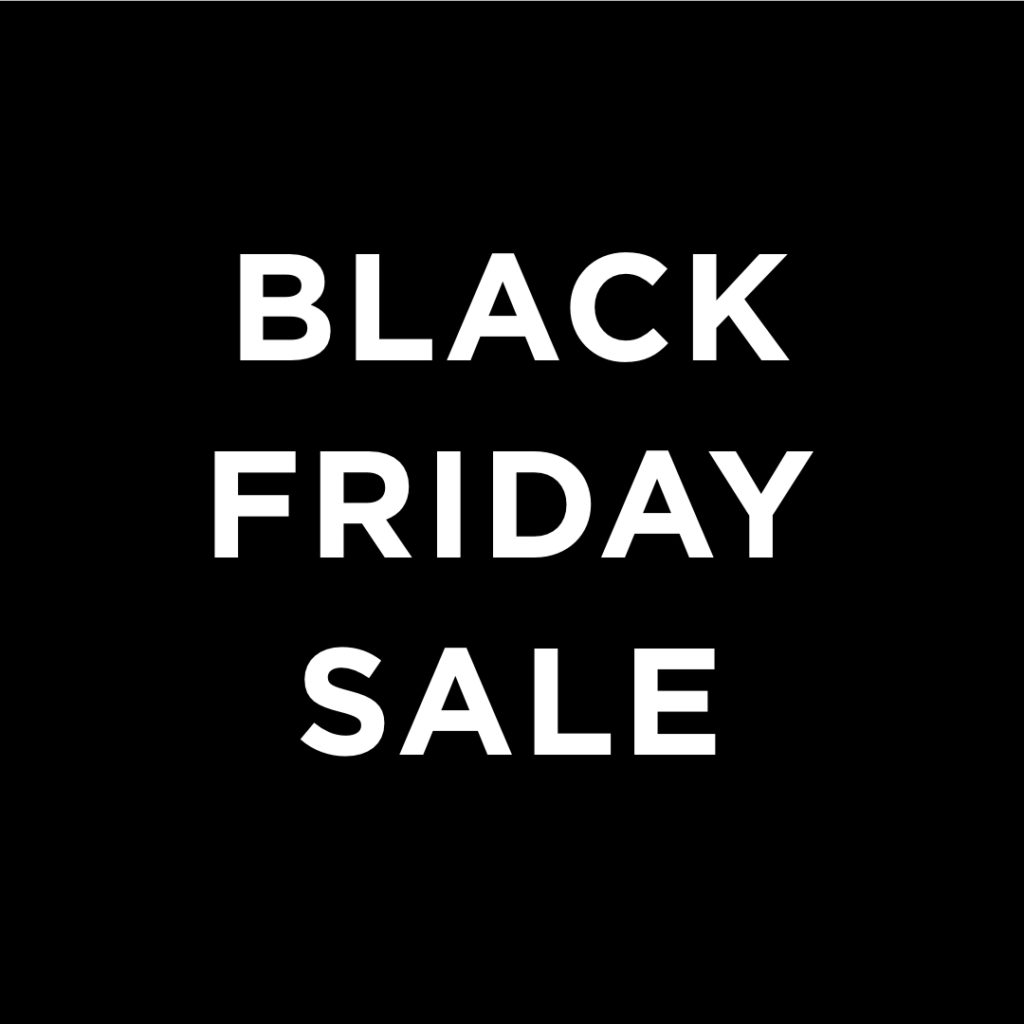 BLACK FRIDAY SALE – Look and Feel Friday-Fabulous with UP TO 50% OFF!