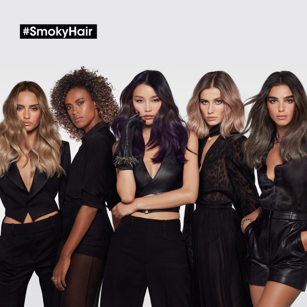 Smoky Hair – The Season's Hottest Colour Trend